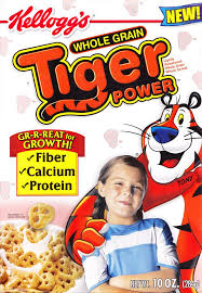 Tiger Power Cereal Kelloggs 2005 Catchphrase Gr R Reat For Growth