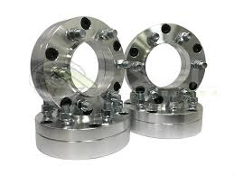 100 Hub Truck Centric Wheel Adapters 5x5 TO 6x135 6 Lug Wheels On 5 Lug