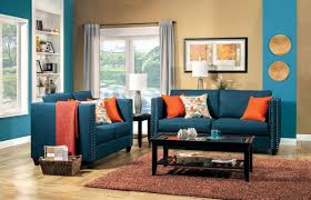 Brown And Aqua Living Room Ideas by Living Room Royal Blue And White Living Room With Sea Blue Decor