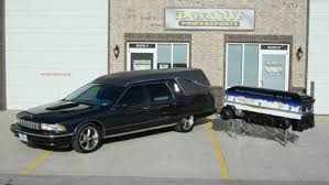It's Not Halloween Without A Chevy Caprice Hearse And A Twin-Engined ...