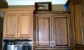 cabinet staining kitchen cabinets darker before and after tea