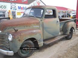 1951 Chevy Pickup Truck 1 / 2 Ton Short Box Farm Barn Find Patina ...