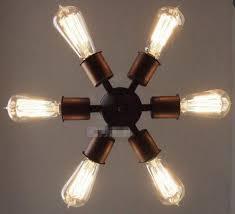 vintage industrial diy ceiling l bell glass pendant lighting