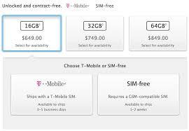 Apple Begins fering Unlocked SIM Free iPhone 5s Models in U S