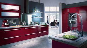 cuisine framboise cuisine couleur framboise merveilleux cuisine blanche mur