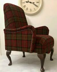 Shabby Chic Red Lana Tartan Small Bedroom ArmChair + Free Delivery ... Tartan Armchair In Moodiesburn Glasgow Gumtree Queen Anne Style Chair In A Plum Fabric Wing Back Halifax Chairs Gliders Gus Modern Red Sherlock From Next Uk Fixer Upper Pink Rtan Armchair 28 Images A Seat On Maine Cottage Arm High Back Inverness Highland Beige Bloggertesinfo Antique Victorian Sold Armchairs Recliner Ikea William Moss Fireside Delivery Vintage Polish Beech By Hanna Lis For Bystrzyckie Fabryki Armchairs 20 Best Living Room Highland Style