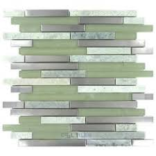 Atlantic Shell Stone Tile by Shop 11 1 2 X12 Paragon Atlantic Bubble Mini Brick Pattern Frosted