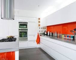 Medium Size Of Kitchen Modern Orange Decorating Ideas Modular For Striking Design