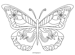 Butterfly Coloring Pages For Adults 18