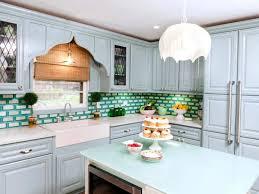 kitchen light blue backsplash tile modern kitchen tiles