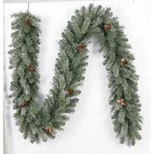 Silvertip Christmas Tree by Shop Holiday Living Indoor Outdoor 9 Ft L Madison Pine Garland At
