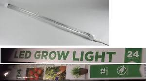 lights of america 2 foot 12 watt cabinet grow light 7724e