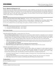 Best Marketing Resume Examples Executive Samples Sample Sales