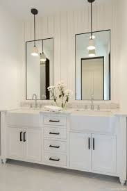 09 Awesome Modern Farmhouse Bathroom Vanity Ideas In 2019 | Bathroom ... Modern Master Bathroom Vanity Lisaasmithcom Unusual Ideas Unique Large Shower Small Makeovers Walk In 13 Dwell Bath Barndominium Pinterest Double 30 Bathrooms With Lshaped Vanities 9 Hgtv Venetian Mirrors Ornate 6 Organization For The Cabinets More Two Tops Units Inch Width Awesome Transitional For Classy Fresh Desktop Wallpaper