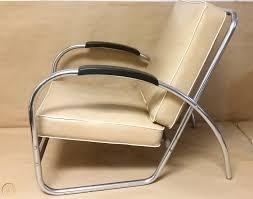 Kem Weber Style Streamline Moderne Lounge Chair, Mid Century ...