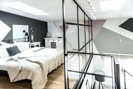 verriere chambre chambre deco industrielle loft scandinave style industriel salon