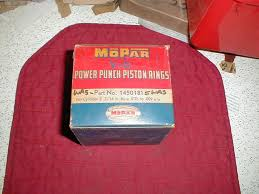 100 1953 Dodge Truck Parts NOS Mopar Piston Rings 4 1955 Plymouth 8 Cylinder Models
