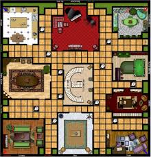 Template Clue Board Game Printable Large Size