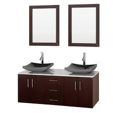 46 Inch Double Sink Bathroom Vanity by 55