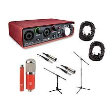 Focusrite Scarlett 2i2 2nd Gen 2 USB 20 Audio Interface