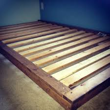 Build Platform Bed Frame Diy by Bed Frame Project And Queen Build Platform Bed Frame Cheapu Wood