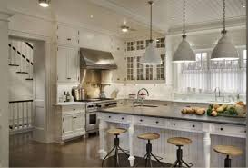 wonderful pendant lights white kitchen with bridge gooseneck