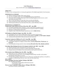 Examplerhdistinctivewebcom Powerful Resume Examples For Long Term Employment Human Resources Samples Experienced Accounts
