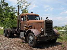 100 Duel Truck Driver 1960 Peterbilt 281 From The Movie At Museum Of