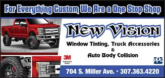 New Vision Window Tinting And Accessories | Basin/Big Horn Mountain ... New Vnl Volvo Trucks Usa 2018 Silverado Hd Commercial Work Truck Chevrolet Fuller Accsories Vision Snugtop Covers In The Bay Area Campways Driving Intertional Lt News Mile Marker Winch Powers Project Front Runners Recovery Equipment Oms Of The Month Ontario Motor Sales Whats At Lordco Parts Ltd Undcover Bed Ultra Flex