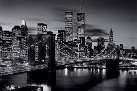 poster noir blanc du pont de à new york acheter