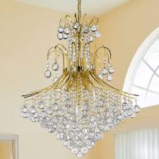 Lighting By Pecaso Contour Gold Chandelier 15 Lights