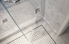 shower amazing how to install a tile shower floor mosaic tile