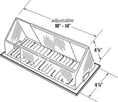 Ceiling Ac Vent Deflectors by Redirecting Air Conditioner Flow Ac Vent Flow Deflector