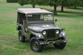 About Willys Vehicles - M38A1