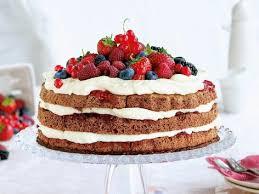 beeren torte mit vanille mascarpone einfach lecker