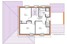 plan de maison 2 chambres plan de maison 2 etage maison plain pied 2 chambres maison klea