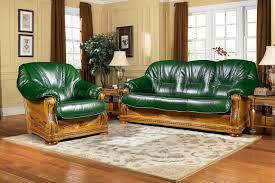 mailand designer leder couchgarnitur mit schlaffunktion