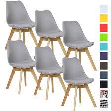 esszimmerstühle 6 x esszimmerstuhl design stuhl küchenstuhl