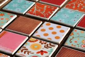 ceramic tile coasters this might be the cheapest craft