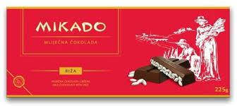 zvecevo mikado schokolade mit puffreis