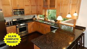 kitchen countertops with maple cabinets