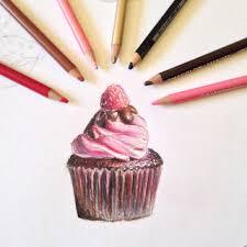 My cupcake drawing 😋🍰 realism pwrealism
