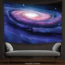 house decor gobelin galaxy nebel im weltall spirale stardust