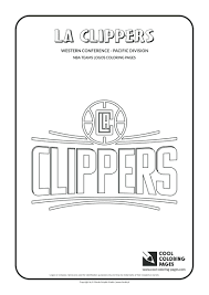Nba Team Logo Coloring Sheets Cool Pages Basketball Clubs Logos Western Conference Pacific Printable Free