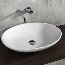 arbeitsplatte bad waschbecken ovale schüssel 59 olympia