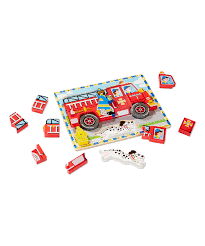 Melissa & Doug Fire Truck Chunky Puzzle | Zulily Melissa Doug Fire Truck Floor Puzzle Chunky 18pcs Disney Baby Mickey Mouse Friends Wooden 100 Pieces Target And Awesome Overland Park Ks Online Kids Consignment Sale Sound You Are My Everything Yame The Play Room Giant Engine Red Door J643 Ebay And Green Toys Peg Squirts Learning Co Truck Puzzles 1
