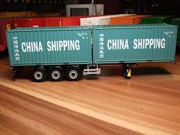 WSI 20ft Container Cina Shipping Auf WSI Pacton 3 Achs Flex ...