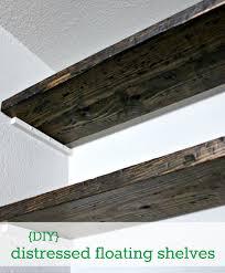 Reclaimed Wood Shelf Diy by Diy How To Fudge Reclaimed Floating Shelves Hi Sugarplum