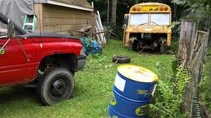 School Bus Gets Annihilated In This EPIC Truck Pull!