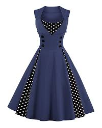 amazon com killreal women u0027s polka dot retro vintage style